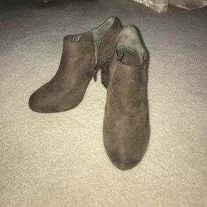 Nine West Suede Bootie